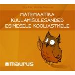 Matemaatika kuulamisülesanded I kooliastmele. CD plaat õpetajale